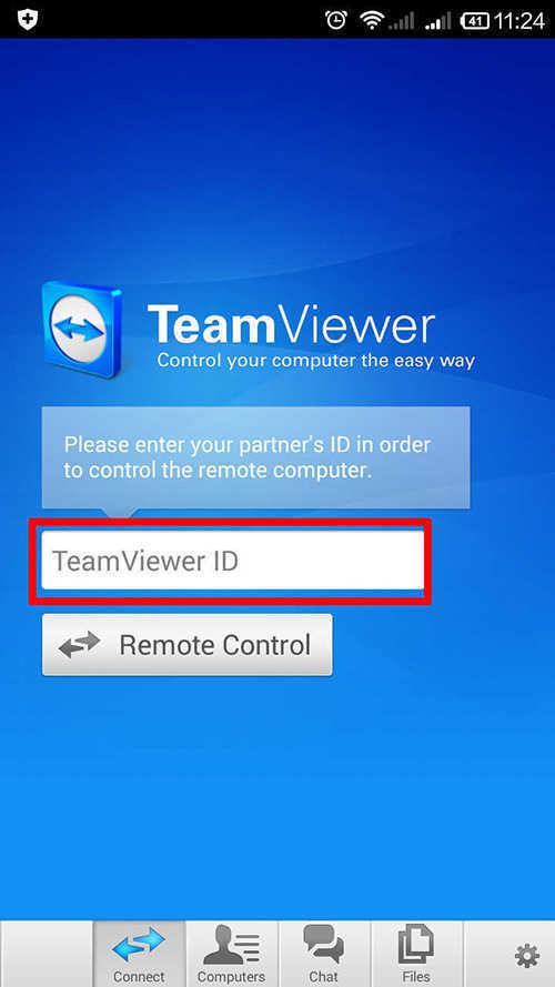langklah pertama cara menghubungkan dan mengontrol pc lewat android dengan team viewer