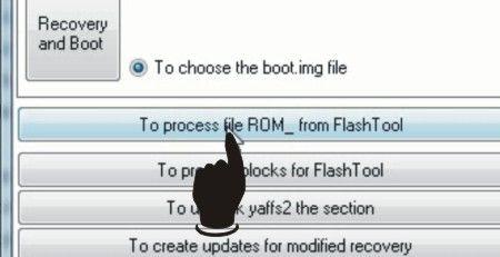 Langkah kedua Cara Merubah File BIN Ke Scatter