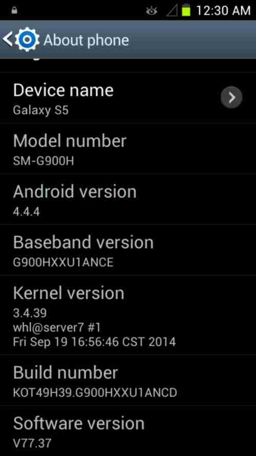 Download Firmware Samsung Galaxy S5 Replika SM-G900H MT6571