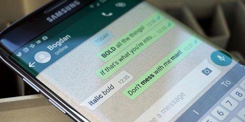 cara menulis teks bold italic striketrough di whatsapp