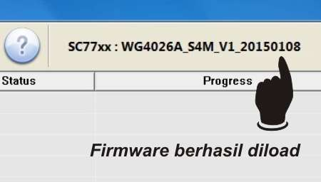 Bagaimana Cara Flash Advan S4M
