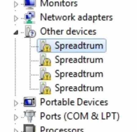 Cara Install driver Spreadtrum SC7731
