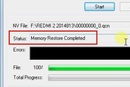 Gambar 7 Cara Mengatasi Baseband Unknown Xiaomi Redmi 2