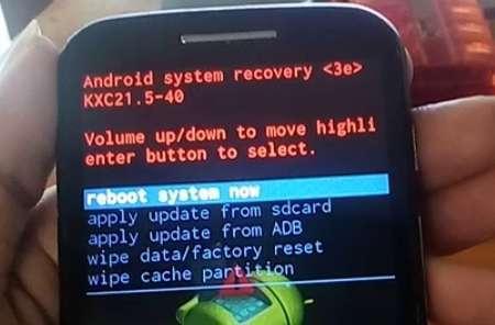 Cara Hard Reset Motorola MOTO E XT1021