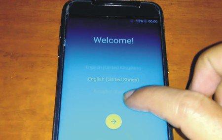 Cara Flash Samsung Galaxy S7 Clone SM-G930F