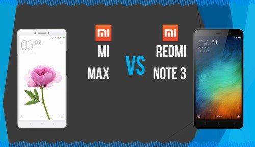 Xiaomi Mi Max Vs Xiaomi Redmi Note 3 Pro, Mana yang Terbaik?