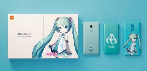 Spesifikasi dan Harga Redmi Note 4X Hatsune Miku