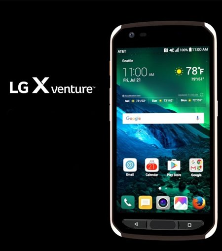 spesifikasi LG X Venture
