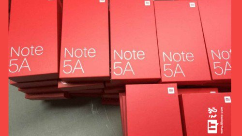 Spesifikasi dan Harga Xiaomi Redmi Note 5A