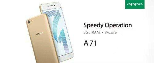 Spesifikasi dan Harga Oppo A71