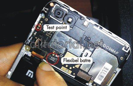 cara test point UGG prime untuk masuk download mode 9008